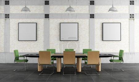 Meeting room in a loft
