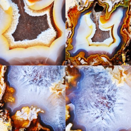 Set of Agate