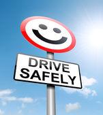 Bezpečné jízdy koncepce
