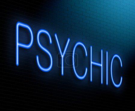 Psychic concept.