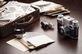 Alte Fotos und Foto-Ausrüstung
