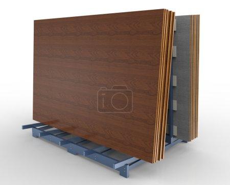 Joiner rack shelving