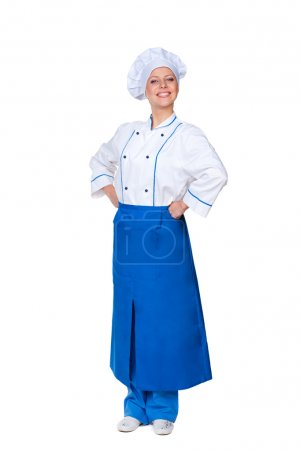 prosperous female cook