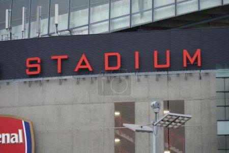 Photo pour Londres Images - Emirates Stadium - Arsenal Football Club - image libre de droit