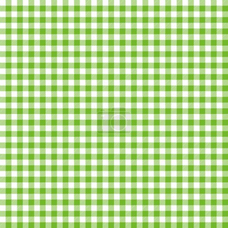 Illustration for Green and white checkered background - Royalty Free Image