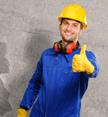 Engineer With Thumps Up
