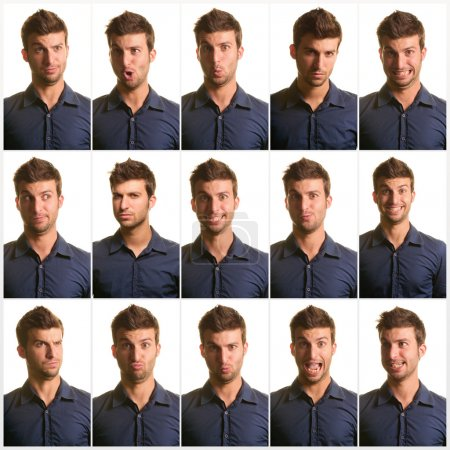 Portrait Of Man Expression