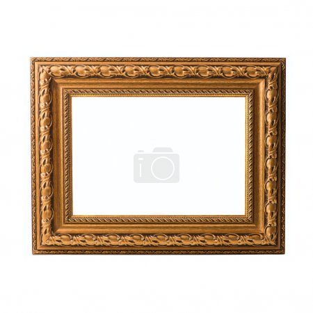 Photo for Empty Frame On White Background - Royalty Free Image
