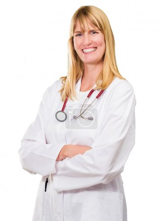 Portrait Of Happy Female Doctor