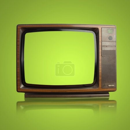 Photo for Vintage tv - Royalty Free Image