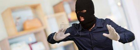 Burglar In Face Mask
