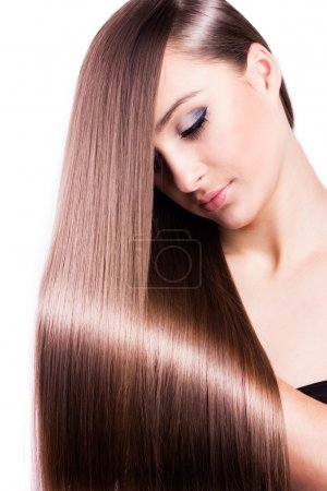 Photo for Beautyful woman with healthy long hair - Royalty Free Image