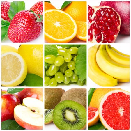 Photo for Collection of fresh fruits - Royalty Free Image