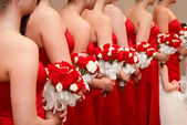 Strana svatební kytice