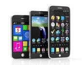 Smartphone touchscreen isolato