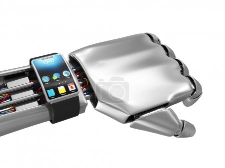 Smart Watch Robotic on Hand