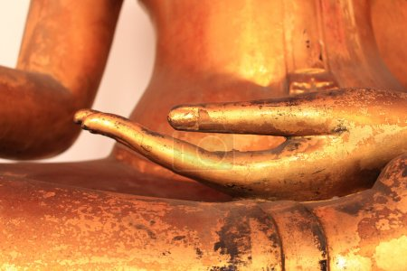 Image of Buddha Hand in Wat Pho