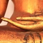 Image of Buddha Hand in Wat Pho...