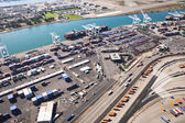 Port of Oaklandu - oakland, Kalifornie, usa