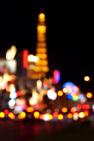 Abstract blurred background of Eiffel tower on Las...
