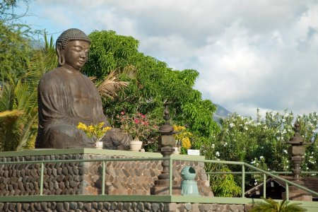 Lahaina jodo mission on Maui Island Hawaii