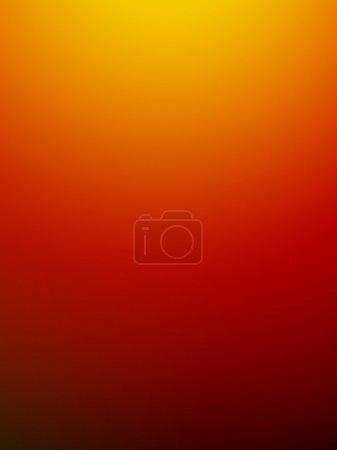 Photo pour Résumé motif dégradé orange fond flou décoratif - image libre de droit