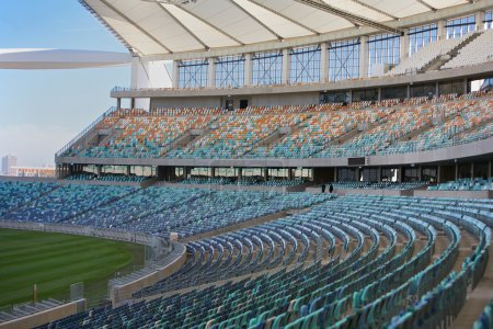 Photo for New stadiums in city of Durban, Kwazulu, Natal, South Africa - Royalty Free Image