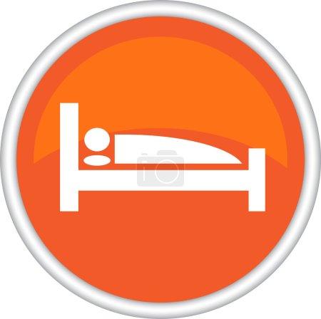Round sign, symbol, leisure