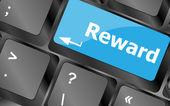 Jutalmak billentyűzet kulcsok kifizetési vagy roi