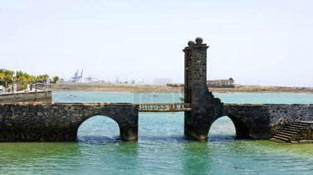 Castle Bridge of San Gabriel, Arrecife, Lanzarote, Canary Islands