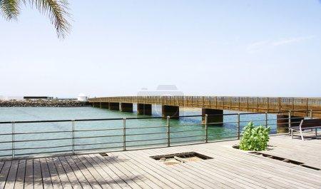 Fermina Islet Bridge, Arrecife,