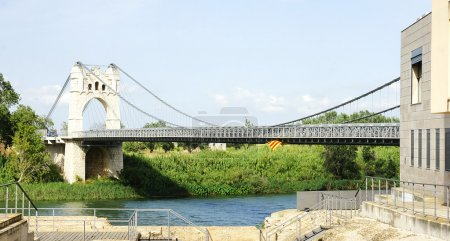 Bridge over the Ebro river