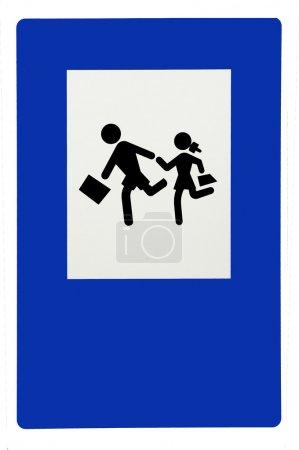 school traffic sign