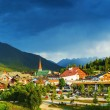 Little town in the mountains, Europe, Austria, See...