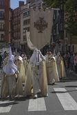 VALLADOLID, SPAIN - APRIL 17: Easter week (Semana Santa), Nazare