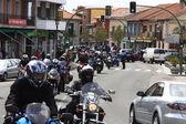 Guadarrama, Španělsko 28 duben-koncentrace prostředí internationa