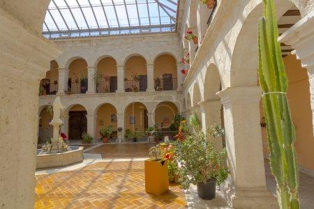 Convent Court, Santa Maria del Henar, Segovia, Spain