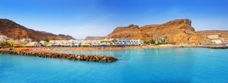 Gran canaria puerto de mogan beach in Canary Islan...