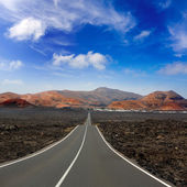 Lanzarote Timanfaya Fire Mountains road