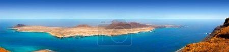 Lanzarote Mirador del rio La graciosa island panoramic