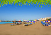 Los Cristianos beach in Arona Tenerife south