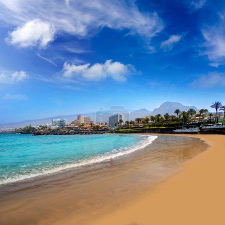 Las Americas Beach Adeje coast Beach in Tenerife