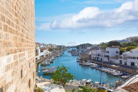 Ciutadella Menorca marina Port view Ciudadela