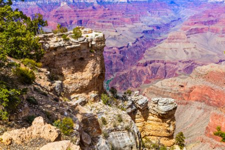 Arizona Grand Canyon Park Mother Point and Amphitheater