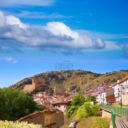 Alcala de la Selva in Teruel village near Virgen de la Vega