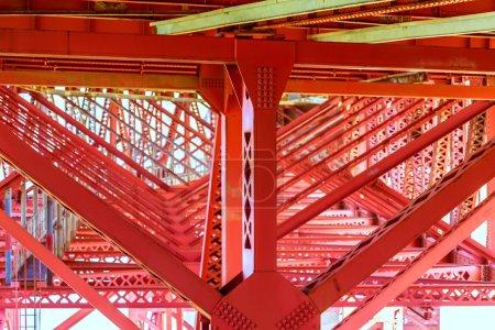 Photo for Golden Gate Bridge under details in San Francisco California USA - Royalty Free Image