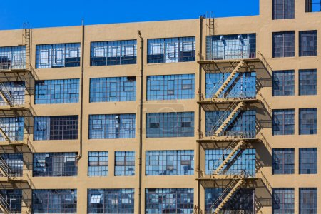 San Francisco industrial vintage buildings in California