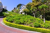 San francisco en Californie jardins lombard street