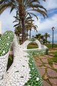 Oropesa del Mar Castellon beach gardens tiles mosaic