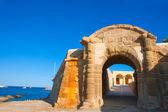 Tabarca Puerta de San Miguel de Tierra fort door arc